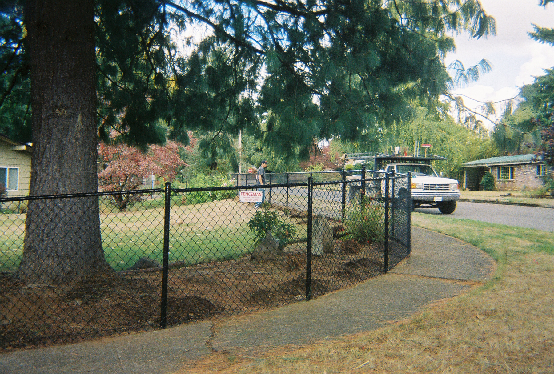 A great option to have a beautiful fence without the added expense of ornamental fences. Contact Vancouver Washington's Best Fence Builders. The Fenceman Fence Company installs wood, vinyl, chain link and ornamental iron fences. We also offer materials for the do it yourselfer.