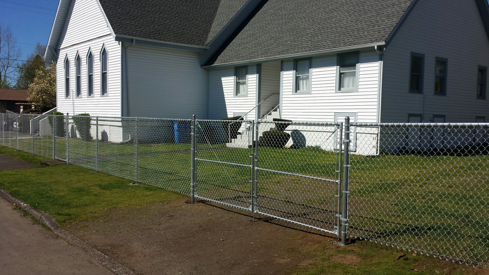 Vancouver Chain Link Fences – Fenceman Fence Company – Vancouver ...