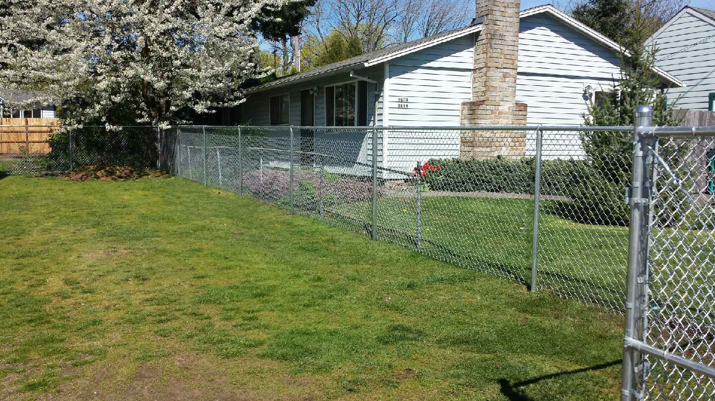 Vancouver Chain Link Fences Fenceman Fence Company
