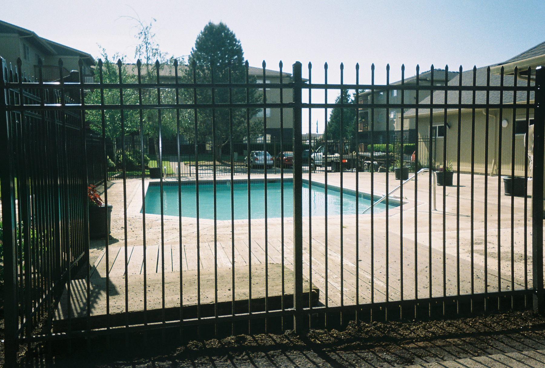 Ornamental Fence providing beauty and security and safety. Contact Vancouver Washington's Best Fence Builders. Providing the best in all your fence needs for over 35 years. Call: 360-254-2299 today