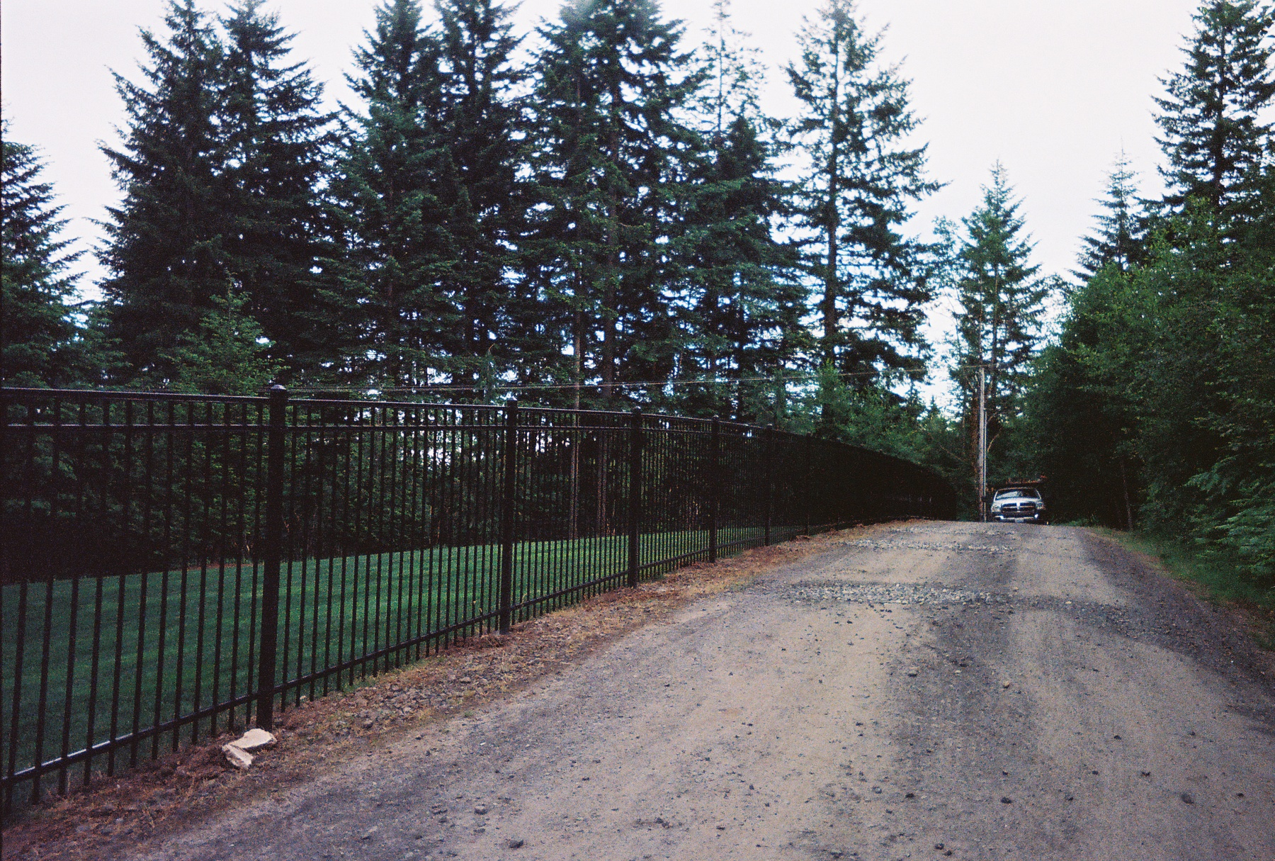 Black Ornamental Fence enhances your property and you scenery. Contact Vancouver Washington's Best Fence Builders. Providing the best in all your fence needs for over 35 years. Call: 360-254-2299 today